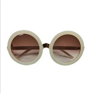 New! Wildfox Oversized Round Sunglasses